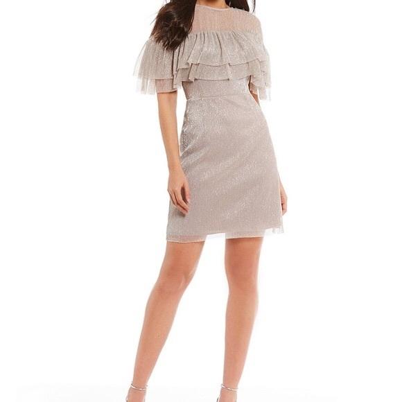 a35b3c3ba4e Gianni Bini Dresses   Skirts - ❤️SALE❤ Gianni Bini Shimmer Ruffle Dress